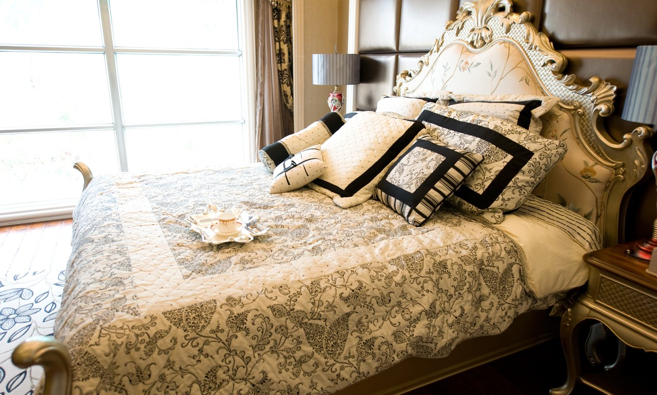 Fresh linens are dust free after vent cleaning