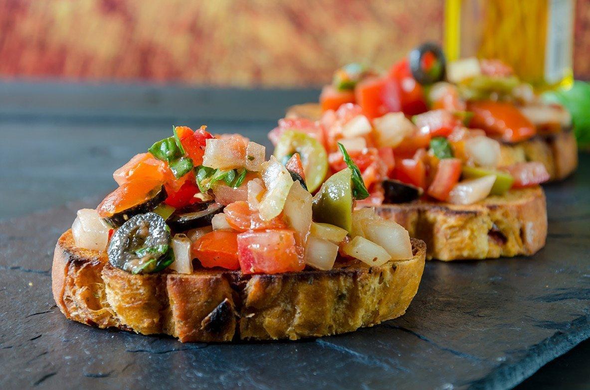 Quality Cuisine & Service - Bruchetta